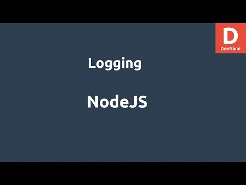 NodeJS Logging Example