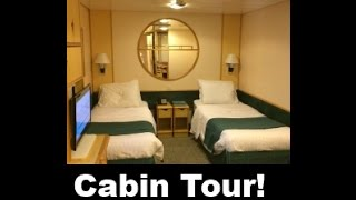 Enchantment of the Seas Detailed Inside CABIN Room TOUR Royal Caribbean Cruise