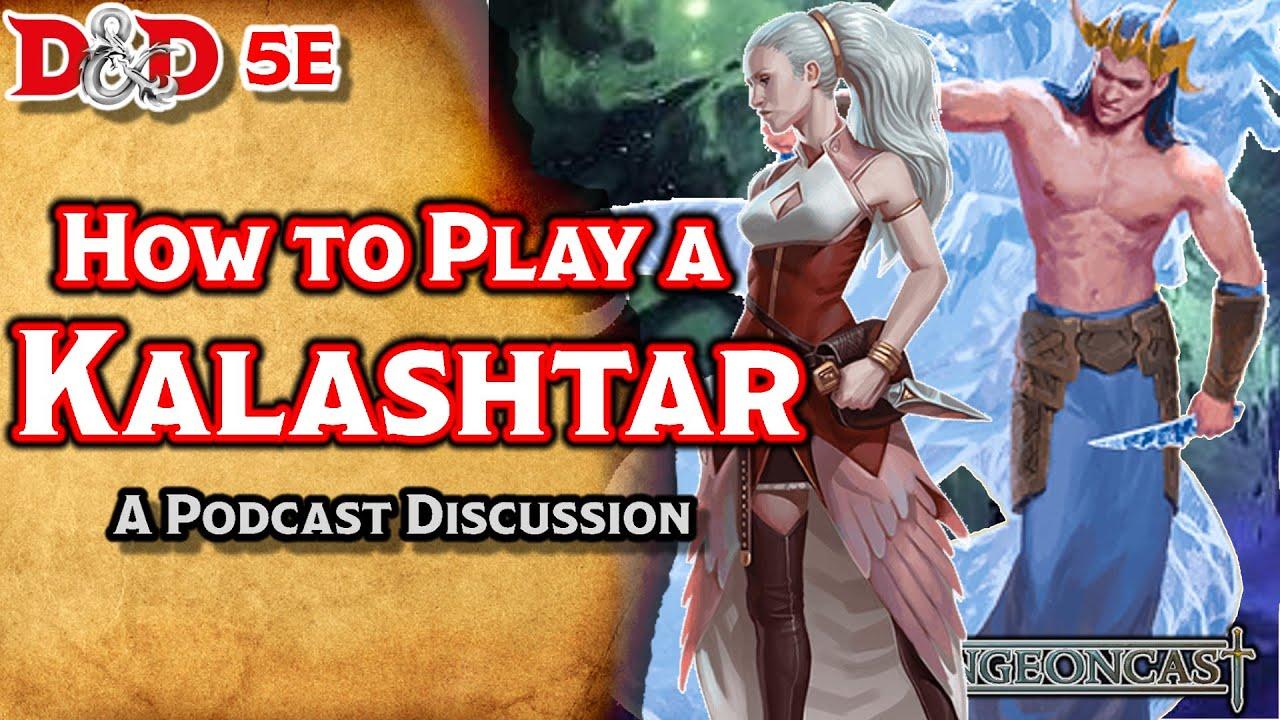 D&D 5E Lore The Kalashtar: Races of the Realms - The Dungeoncast Ep 139