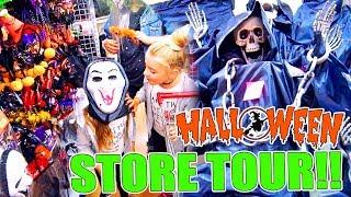 🎃 HALLOWEEN 👻 STORE TOUR 2017 - Itarte Vlogs