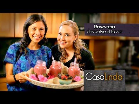 Licuado de Frutas Saludables - Casa Linda y Rawvana (Episodio 5)