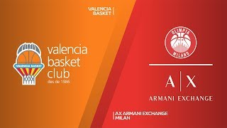 Valencia Basket - AX Armani Exchange Milan Highlights | Turkish Airlines EuroLeague, RS Round 28