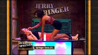 Lesbian Body Shots!!! (The Jerry Springer Show)