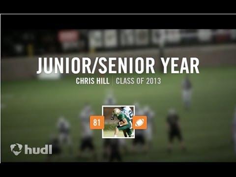 Chris Hill Football Highlights - Mountain Vista High School