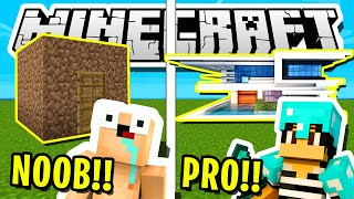 MINECRAFT | THE *ULTIMATE* NOOB VS PRO CHALLENGE!!