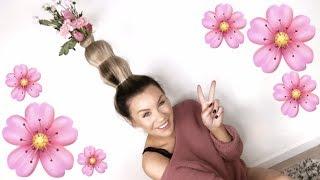 FEM ÅR PÅ YOUTUBE! 🌸 Flower Vase Hair Challenge