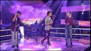 Julian vs. Alperen vs. Anna  | I Will Wait | The Battles | The Voice Kids Germany | 10.04.2015