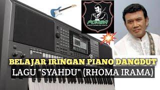 Download Iringan piano dangdut lagu Syahdu (Rhoma Irama)(tutorial piano/keyboard episode #3)