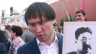 Бессмертный полк - Сангаджи Тарбаев