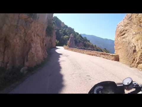 Aprilia Tuono V4 - Corsica (Coastal Road D81b/D81 Calvi-Galéria-Porto)