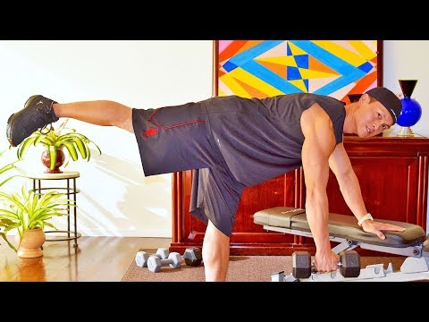 35 Min Advanced Workout with Weights | Full Body Workout
