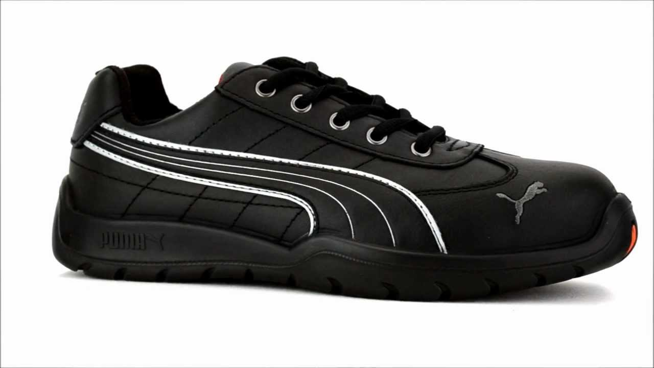 53f52ff0c67 Men s Puma 642625 Steel Toe Work Shoe   Steel-Toe-Shoes.com - YouTube
