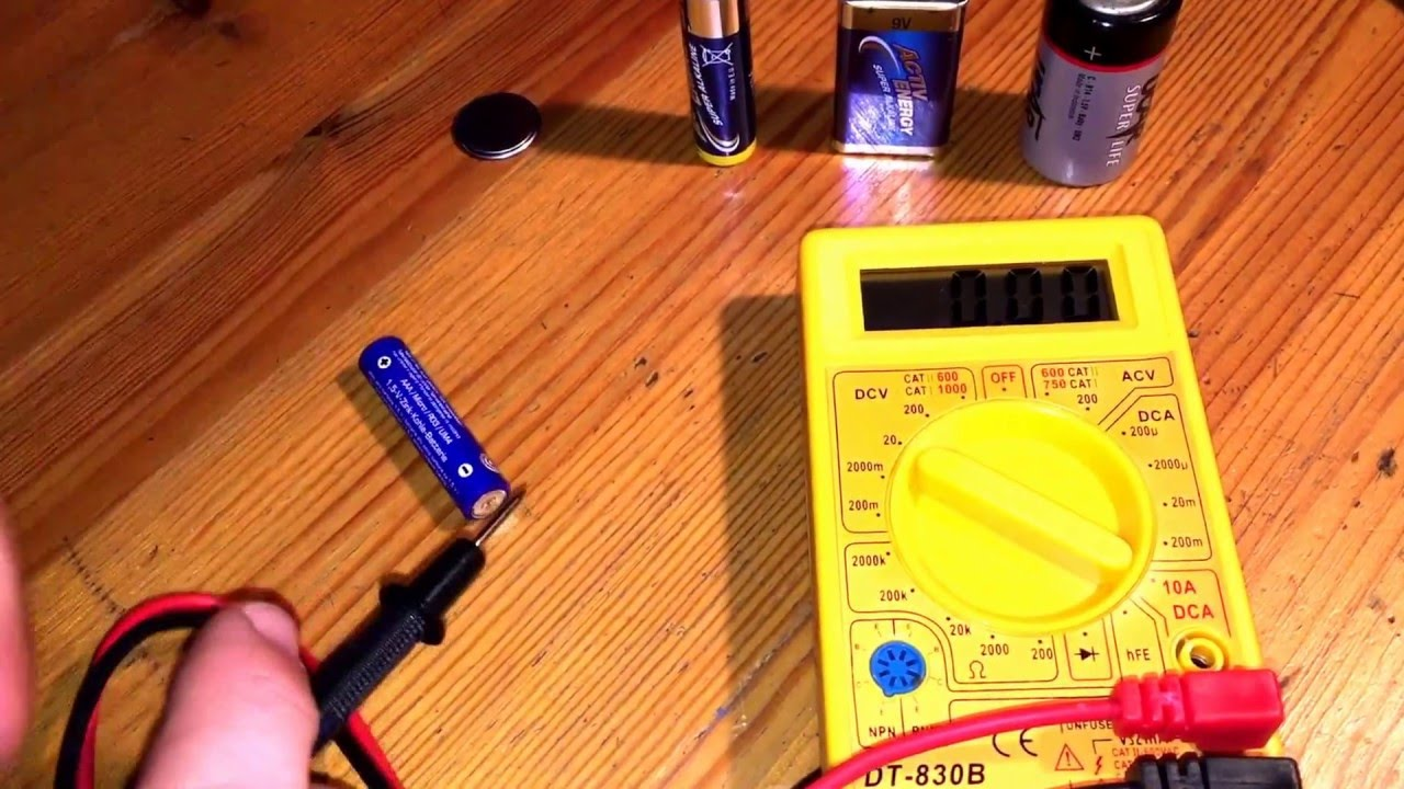 Multimeter Setting Test Car Battery How To Check Aa Autooff Digital Dmm Beeps On Short Circuit Rollertrol And Aaa With