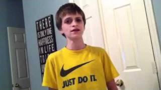 Jack Patterson singing apologize for ellen