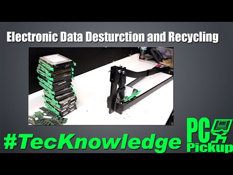 Electronic Data Destruction and Recycling