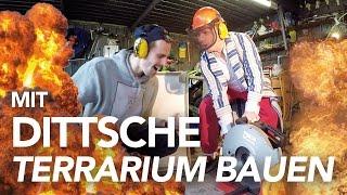 Dittsche und Fynn Kliemann bauen ein Terrarium | Heimwerkerking Dittsche Special