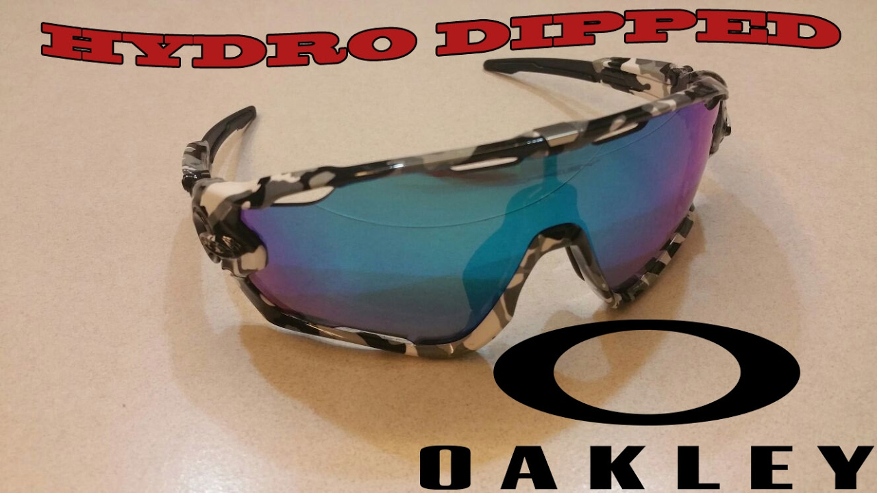 44b9b68adec CUSTOM Hydrodipped Oakley Jawbreaker in Arctic Camouflage by DipGraphics  Singapore