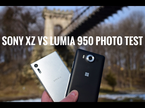 Lumia 950 vs Sony XZ camera photo comparison