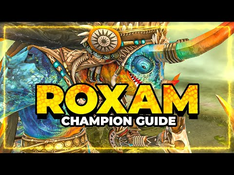 ROXAM Champ Guide   Veil DMG Dealer!   RAID Shadow Legends
