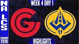 Video CG vs GGS HIGHLIGHTS | NA LCS Summer 2018 Week 4 Day 1 | Clutch Gaming vs Golden Guardians download MP3, 3GP, MP4, WEBM, AVI, FLV Juli 2018