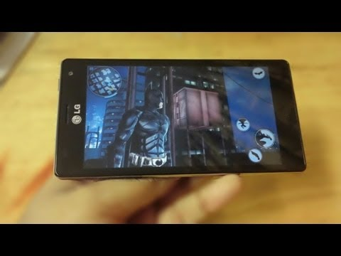 Gaming On LG Optimus 4X HD
