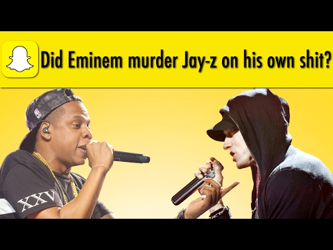 Did Eminem murder Jay-z on his own shit?