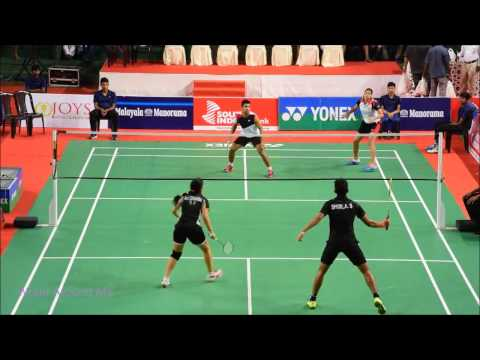 Badminton Indian Open Senior Ranking  Tournament Final Of Mixed Doubles