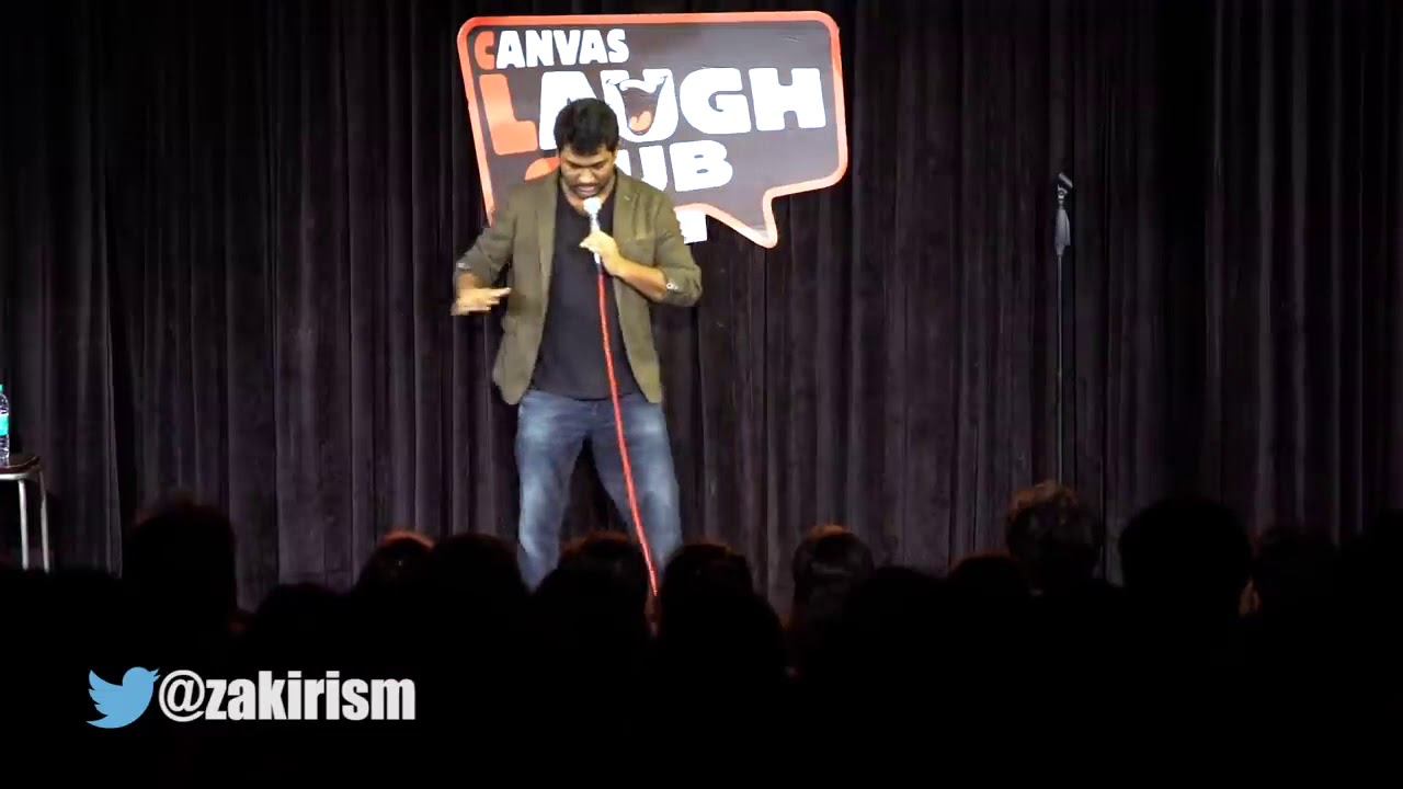 Download IPhone   Funny Stand Up comedy India by Zakir khan   Stand up comedy India   WhatsApp status