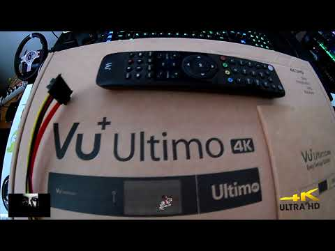 Vu+ Ultimo 4K:  Best Satellite Receiver 4K