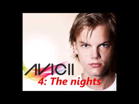 Le dieci canzoni più belle di Avicii top 10 #1