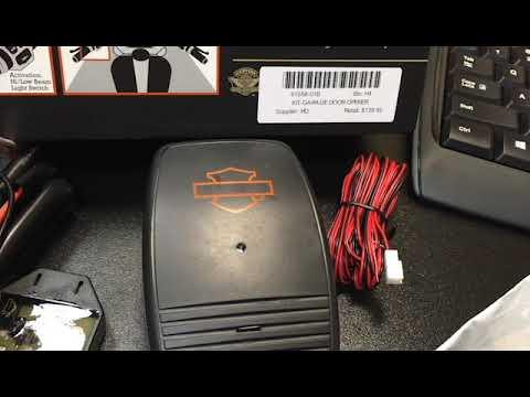 Remote Control Garage Door Opener Kit Youtube