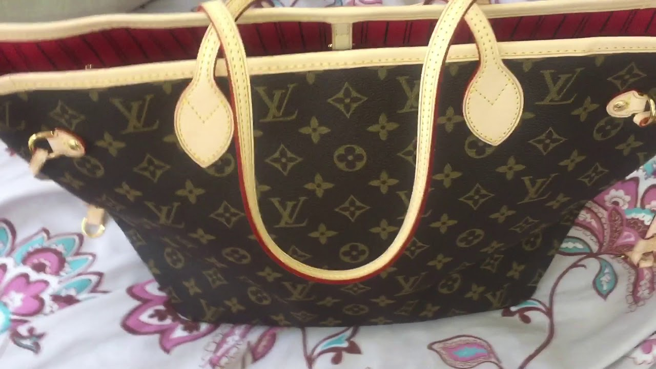 Louis Vuitton Neverfull MM Replica From Joy - YouTube a3a5ace3f66af