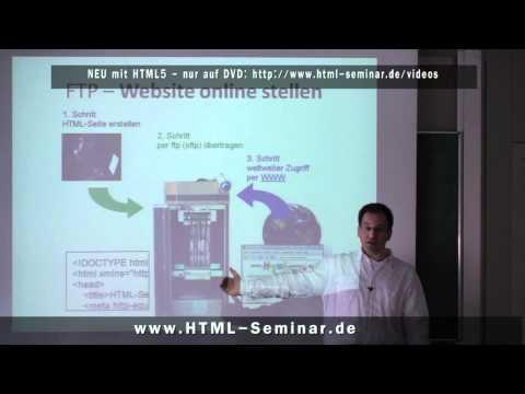 Vorstellung Kursinhalte HTML5, CSS Und Alles Rund Ums Website Erstellen