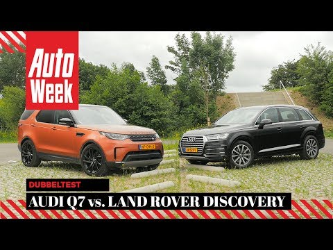 Audi Q7 vs. Land Rover Discovery - AutoWeek Dubbeltest - English subtitles