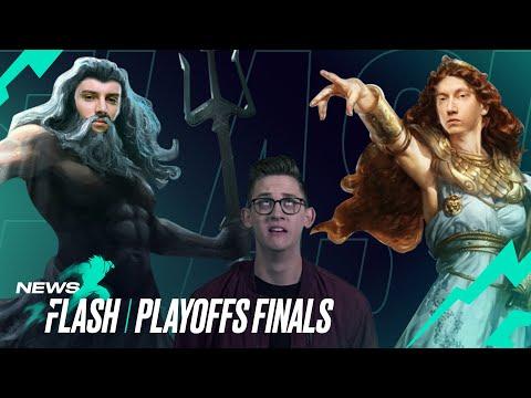 THE CLASH OF GODS #LEC Newsflash - Summer Playoffs Finals