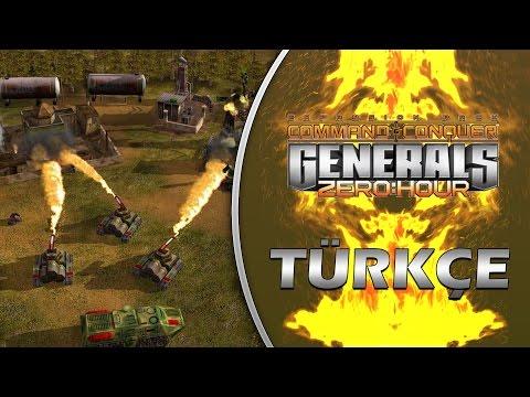 ESKİLERDEN EFSANE STRATEJİ OYUNU / C&C Generals : Zero Hour - Türkçe Oynanış