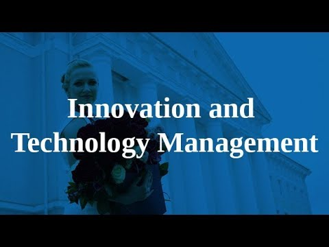 Info Session for MA programme in Innovation and Technology Management