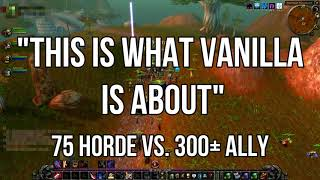 Why It Was Great: Vanilla WoW World PvP | Classic WoW HYPE!