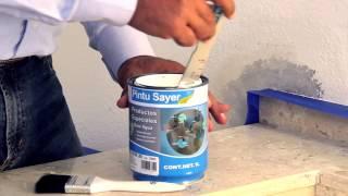 ¿Cómo reparar una pared con humedad?