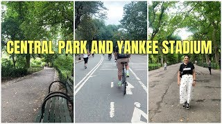 Visiting Central Park and Yankee Stadium - New York Travel Vlog 2