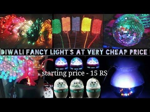 Cheap Electronic Market Lohar Chawl – Mumbai   LED lights ,DJ lights ,festival lights in wholesale.