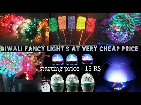 Cheap Electronic Market Lohar Chawl – Mumbai | LED lights ,DJ lights ,festival lights in wholesale.