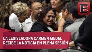 Video Diputada federal de Morena entra en crisis al enterarse del asesinato de su hija download MP3, 3GP, MP4, WEBM, AVI, FLV November 2018