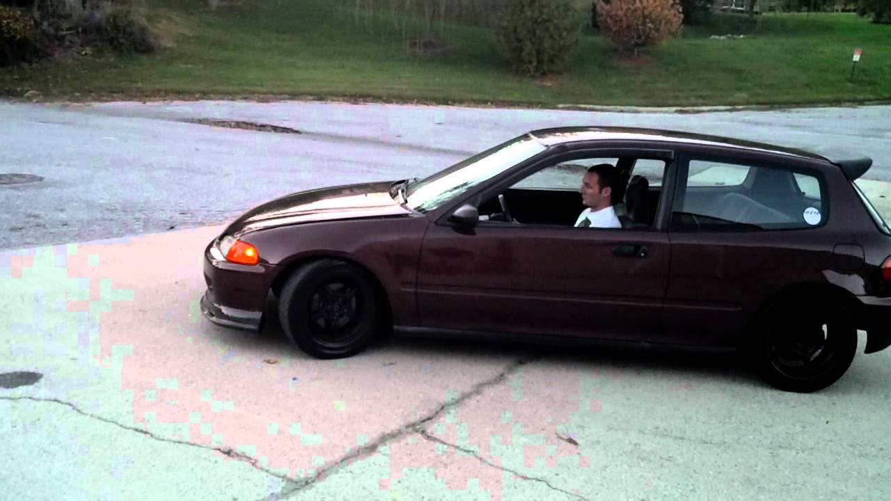 JDM GSR Swapped Civic Hatch 92' - YouTube