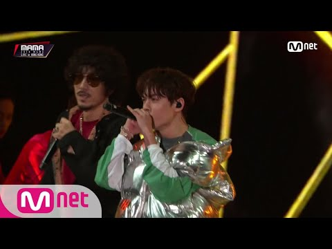 Tiger JK & Vernon(Of SEVENTEEN)_Double Up� MAMA in HONG KONG 181214