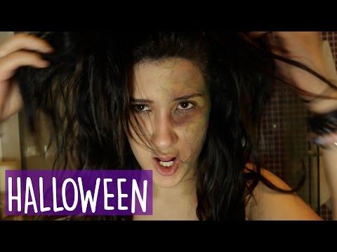 Maquiagem Halloween - Filme Quarentena   Cammie