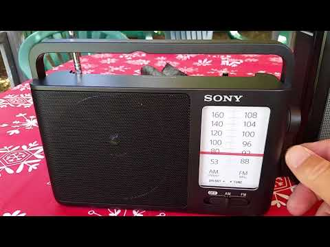 Sporadic e reception on portable radios