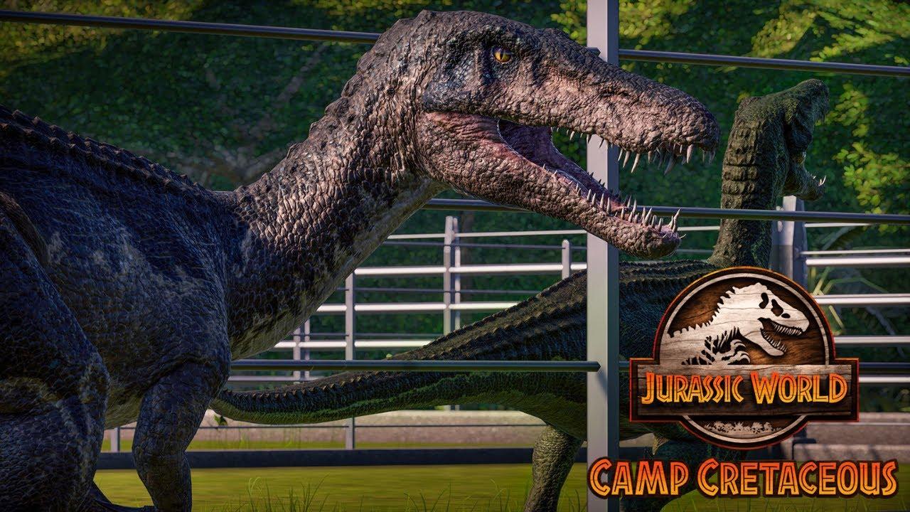 Download Quarantined Dinosaurs - CAMP CRETACEOUS    Jurassic World Evolution