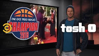 Daniel Gets Inspired by College Basketball - Tosh.0