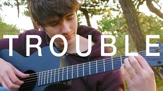 Trouble - Coldplay [Fingerstyle Guitar Cover by Eddie van der Meer]